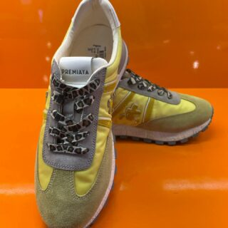 New In ☀️ Hello sunshine, lets make a mellowyellow summer this year!  €280,- #sneakersaddict #premiata #newmodel #sunhine #fashion #womens #multibrandstore #kokowoerden